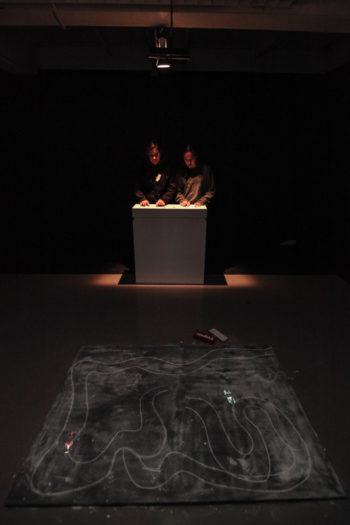 Espadaysantacruz studio – Interactive Chalk Cars