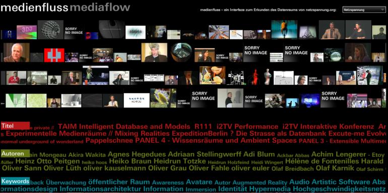 MARS Media Arts Research Studies Monika Fleischmann & Wolfgang Strauss - Mediaflow