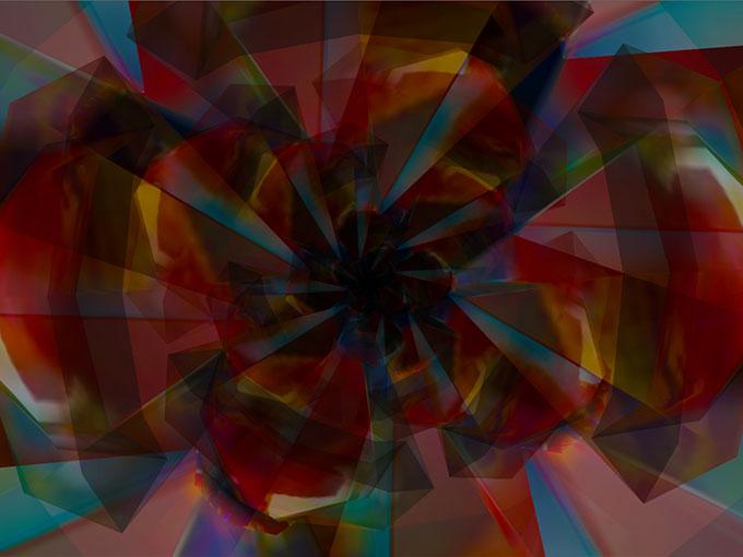 Michael Takeo Magruder - Data Flower (Prototype I)