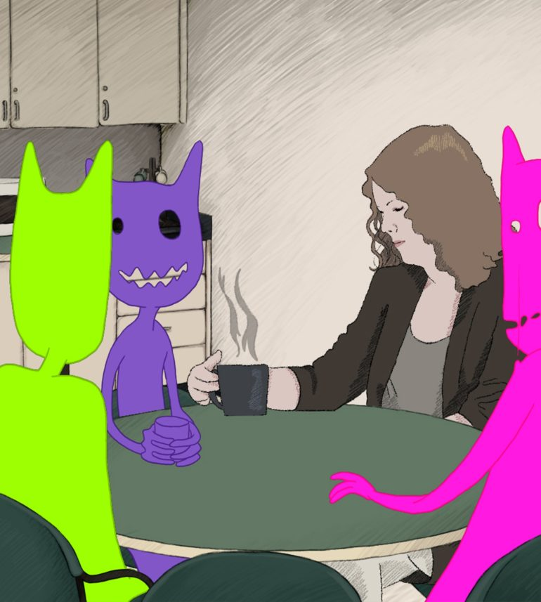 Talia Randall and Common Room Animation Project Team - Common Room