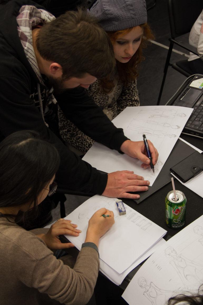 Workshop Design de Personagens para AnimaçãoAndré Aguiar
