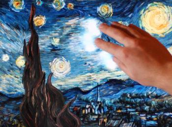 Petros Vrellis - Starry Night