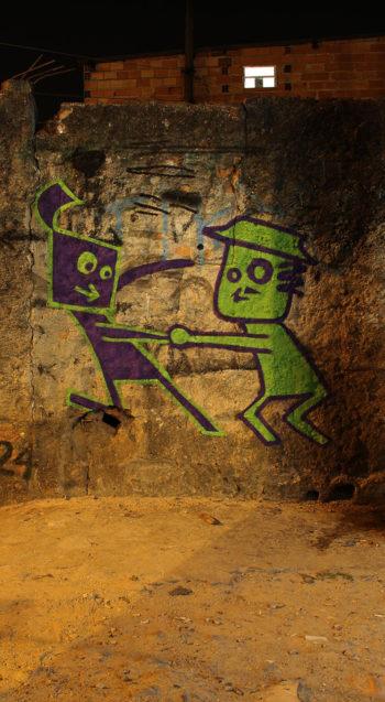 Curta-Metragem de Animação com Graffiti.