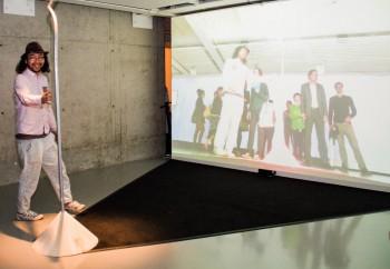 FILE FESTIVAL 2015 anno lab: Sadam Fujioka, Takeshi Usami, Nariaki Iwatani & Masahiro Ihara – A Tail of Spacetime
