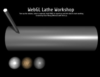 FILE WEBGL 2015 Einar Oberg – Lathe Workshop