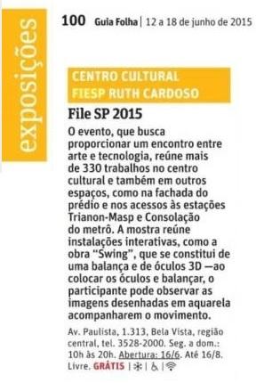 12-06-2015 - Folha de S. Paulo - SP