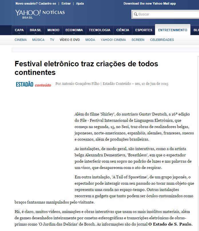12-06-2015 - Yahoo! Notícias - SP (2)