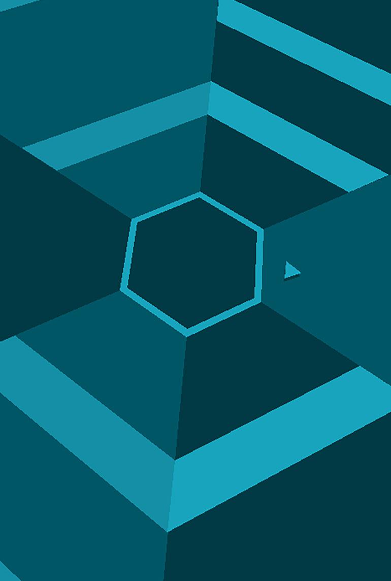 hexagon terry cavanagh games - HD770×1144