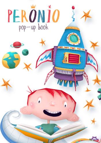 Tiago Moraes e Renato Klieger – Peronio Pop-Up Book
