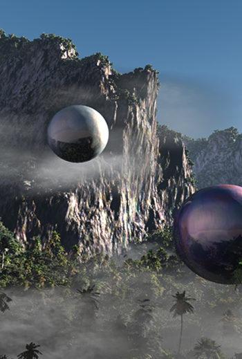 Uwe Heine Debrodt - orbiting e exploring 1