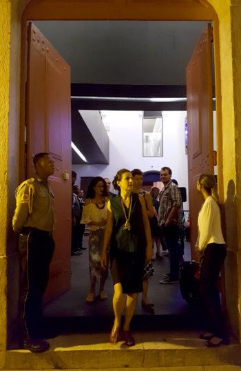 FILE SAO LUIS 2017 – Centro Cultural Vale Maranhao – FILE Festival Organizer: Paula Perissinotto.
